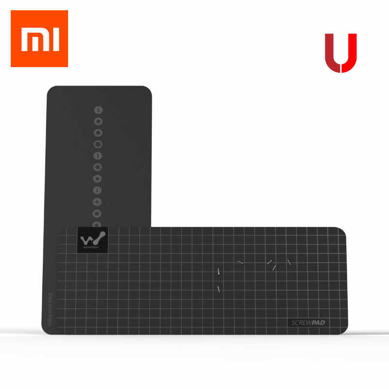 Xiaomi Mijia Wowstick wowpad magnetyczne Screwpad, stanowisko służbowe śruba pamięci podkładka pod talerz dla 1FS 1 P + 1F + Plus Wowcase nozle zestawy opcjonalne