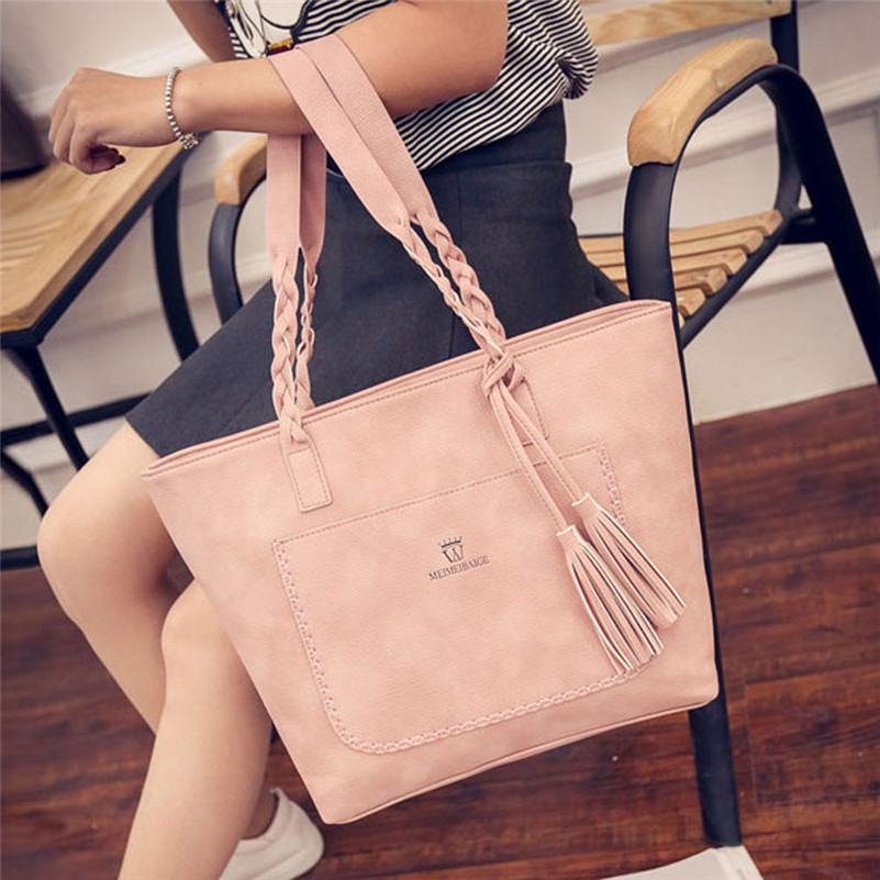 Bolsa Feminina Aliexpress : Bolsa feminina ladies leather handbag bolsos mujer female