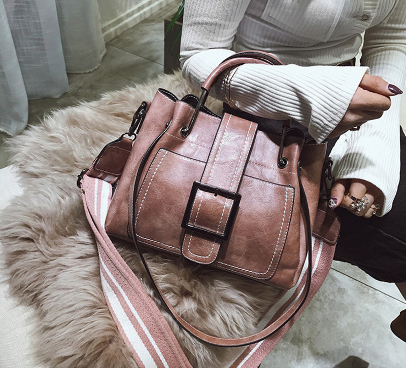 New European and American style vintage PU women handbag shoulder bag messenger bag 81