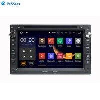 Yessun для VW Passat B5/Golf 4/Поло/Bora Android мультимедийный плеер Системы автомобилей Радио Стерео GPS навигация Аудио Видео