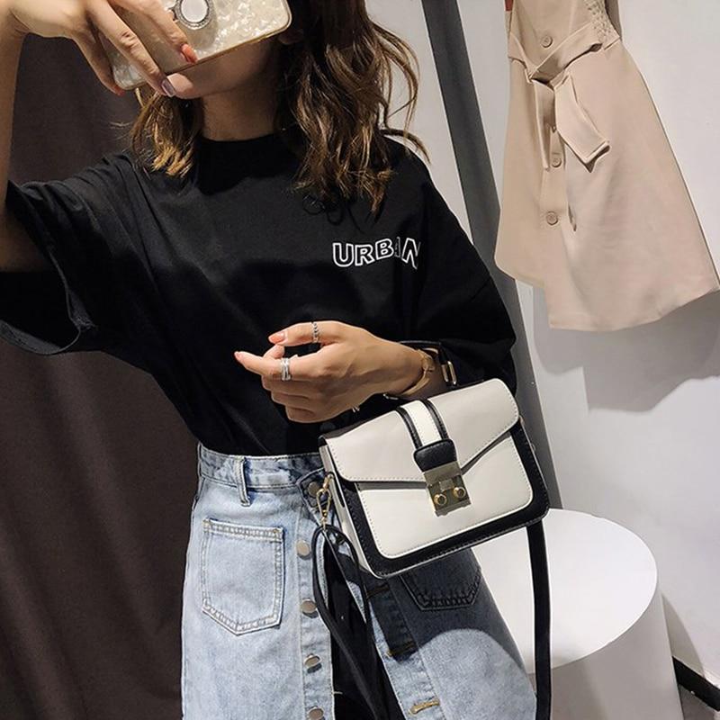 2018 neue Frauen Tasche Stilvolle Handtasche Mit Passenden Farben Frauen Messenger Taschen frauen Beutel Abend Party Paket Handtaschen