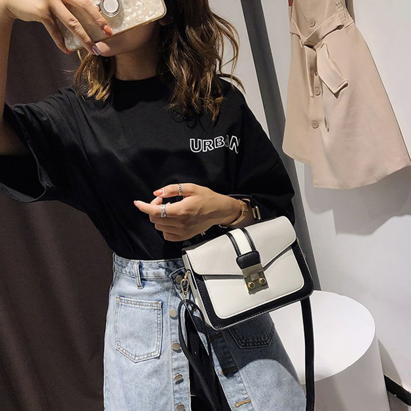 2019 New Women Bag Stylish Handbag With Matching Colors Messenger Bags Women's Pouch Evening Party Package Handbags