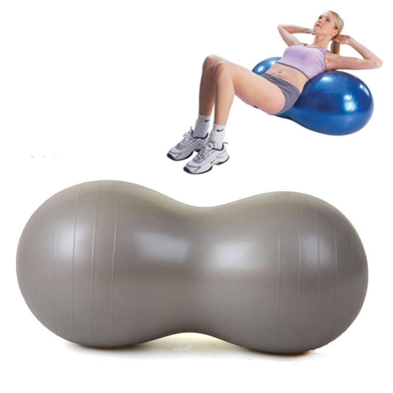 Details about  /Yoga Ball Pilates Peanut Fitness Ball Sports Gym Training Exercise Massage Ball