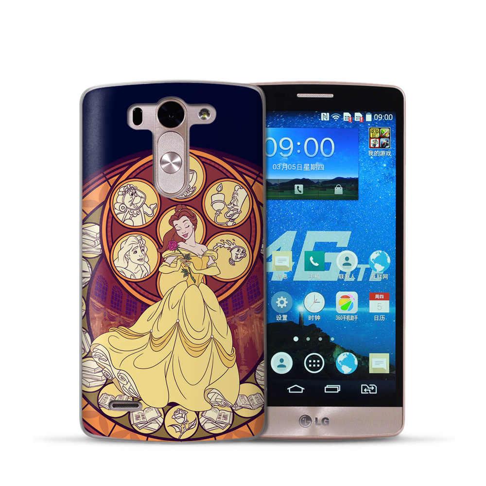 VIYISI ل LG G6 Q6 G4 G5 كوكه جراب هاتف XPower2 Q8 K7 K8 K10 2017 Fundas الأميرة Etui لينة سيليكون عودة أكياس Capinha