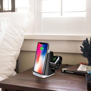 Image 5 - 3 1 qi 빠른 충전 qi 무선 충전기 아이폰에 대 한 samung 무선 충전 마운트 도크 스탠드 홀더 애플 시계 airpod