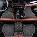Автомобильные коврики для Toyota Corolla Camry Rav4 Auris Prius Yalis Avensis Alphard 4Runner Hilux highlander sequoia corwn Custom 3D