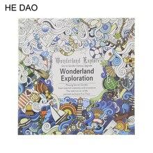 1 шт. 24 страницы цветок Мандала книжка-раскраска для детей и взрослых снятие стресса время убить граффити живопись Рисование художественная книга