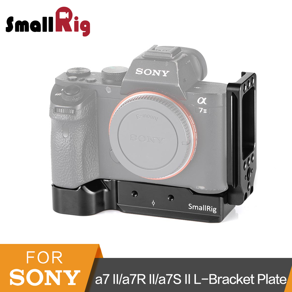 SmallRig a7ii L Bracket Plate for Sony a7 II a7R II a7S II Camera Arca Swiss