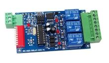 המחיר הטוב ביותר 1 pcs DC12V 10A * 3 ערוץ dmx512 ממסרים להשתמש עבור led מנורה