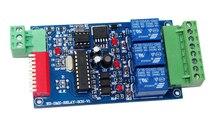 Meilleur prix 1 pièces DC12V 10A * 3 canaux dmx512 relais pour lampe à led