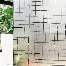 45*200cm/lot Privacy Decorative Window Film Embossing Frosted Static Cling Stickers For Glass Foil Sliding Door Bedroom