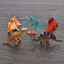 12pcs Mini Luminous Dinosaur Toy Jurassic Noctilucent Dinosaur Model Toys Kids Glow In The Dark Dinosaurs Best Gift For Boys