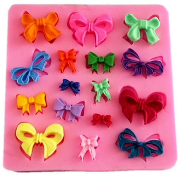 Silikon Kek Kalıp 3D kravat Şekiller DIY Bakeware Setleri silikon - Mutfak, Yemek ve Bar - Fotoğraf 1