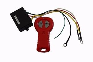 Image 1 - Cabrestante eléctrico inalámbrico, Control remoto y receptor, 12V, para coche, camión, ATV, vehículo