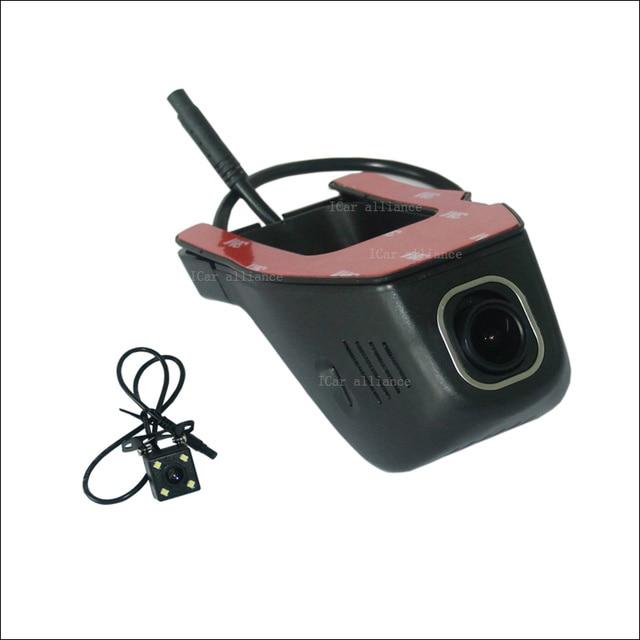 For Ford S-MAX 2008 Car Wifi DVR DashCam Novatek 96655 Dual lens Car Black Box hidden installation Night vision FHD 1080P