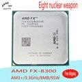 AMD FX-8300 CPU Processor Desktop Octa-Core 3.3G/8M/95W  Socket AM3+ FX 8300 Bulk Package NEW (working 100% Free Shipping)
