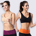 Sports bra without rims running vest type  fitness sports bra