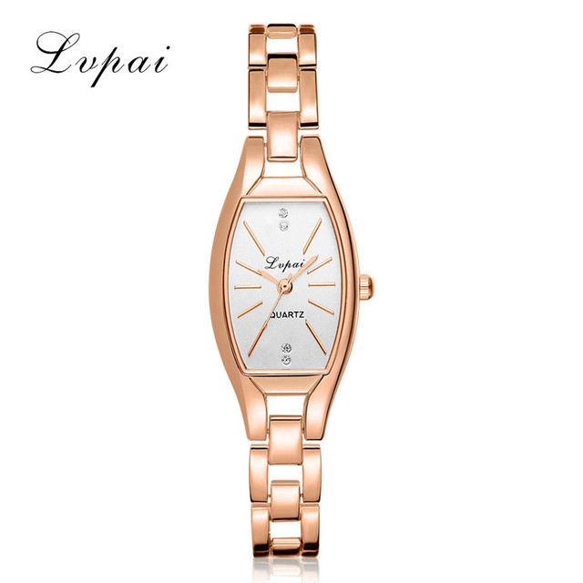 2018 Fashion Ladies Women Unisex Stainless Steel Rhinestone Quartz Wrist Watch b
