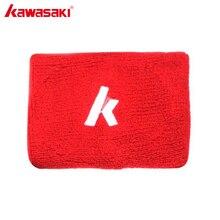 1 пара KAWASAKI брендовая хлопковая ремешок спортивный браслет на запястье с длинным наручные Поддержка для спортзала для игры в баскетбол волейбол 10x7 см