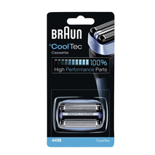 Braun 40B Foil & Cutter Replacement Cartridge for CoolTec Cassette Electric Razor Blade Head Replacement series CT5cc CT4s CT2s