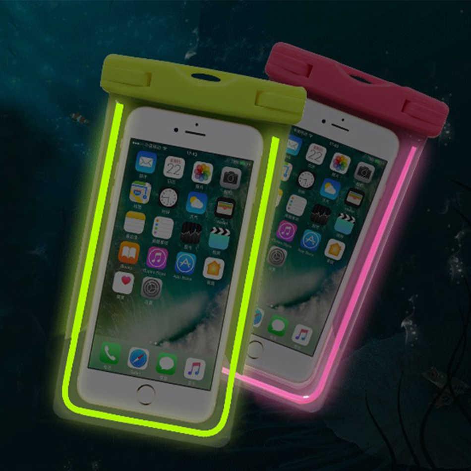 new product c8b46 d6851 Xaomi Redmi 5 plus 5A Swim Phone Pouch Waterproof Case Xiomi Redmi note 5  5A 5 pro Water Proof Cover Capinha Underwater Camera