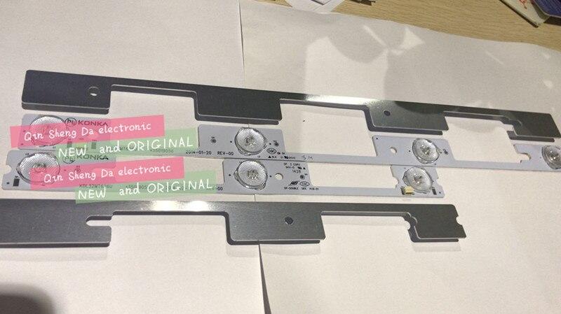 New 20 PCS 10 3LED 6V 10 4LED 6V LED backlight strip for KDL32MT626U 35019055 35019056