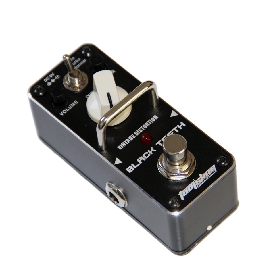 Product group AROMA ABT BLACK TEETH Vintage guitar distortion Mini Analogue Effect True Bypass product differentiation