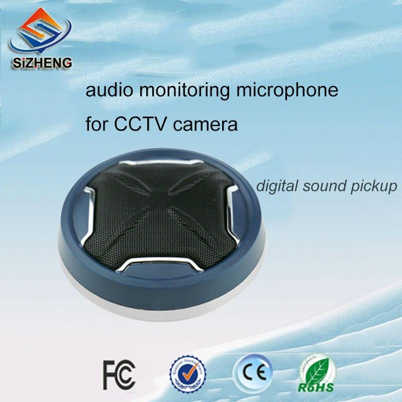 Sizheng MX-K10 redução de ruído cctv áudio microfone voz captador dispositivo para tribunal procuratorate