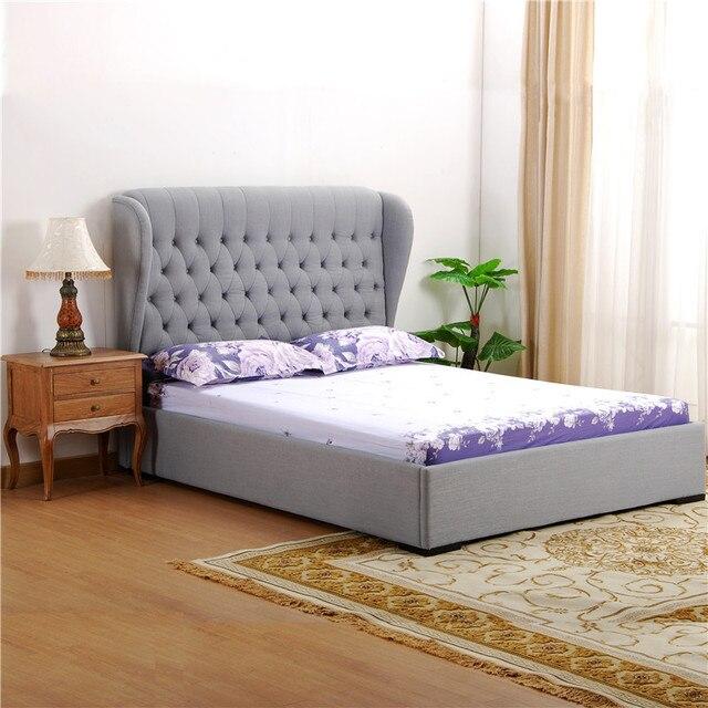 Salvaje roble B05 mediterráneo minimalista europea dormitorio cama ...