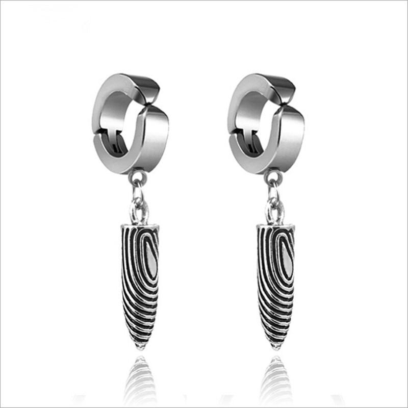 Original Unique Men's Stainless Steel Earrings