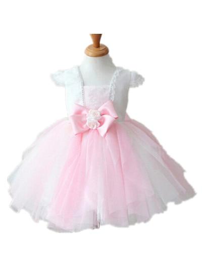 BABY WOW Baby Girl Clothes 1 Year Birthday Dress Flower Girl Dresses Vestido Infantil for 0