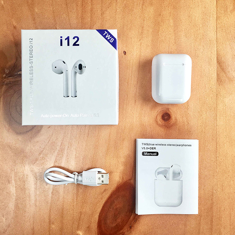 i10 max i12 TWS Wireless Bluetooth 5 0 Earphone Earbuds With Charging Box For iPhone Xiaomi