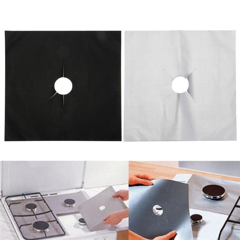 1/2 / 4PCS Protector antiadherente de la estufa Cubierta de - Cocina, comedor y bar - foto 3