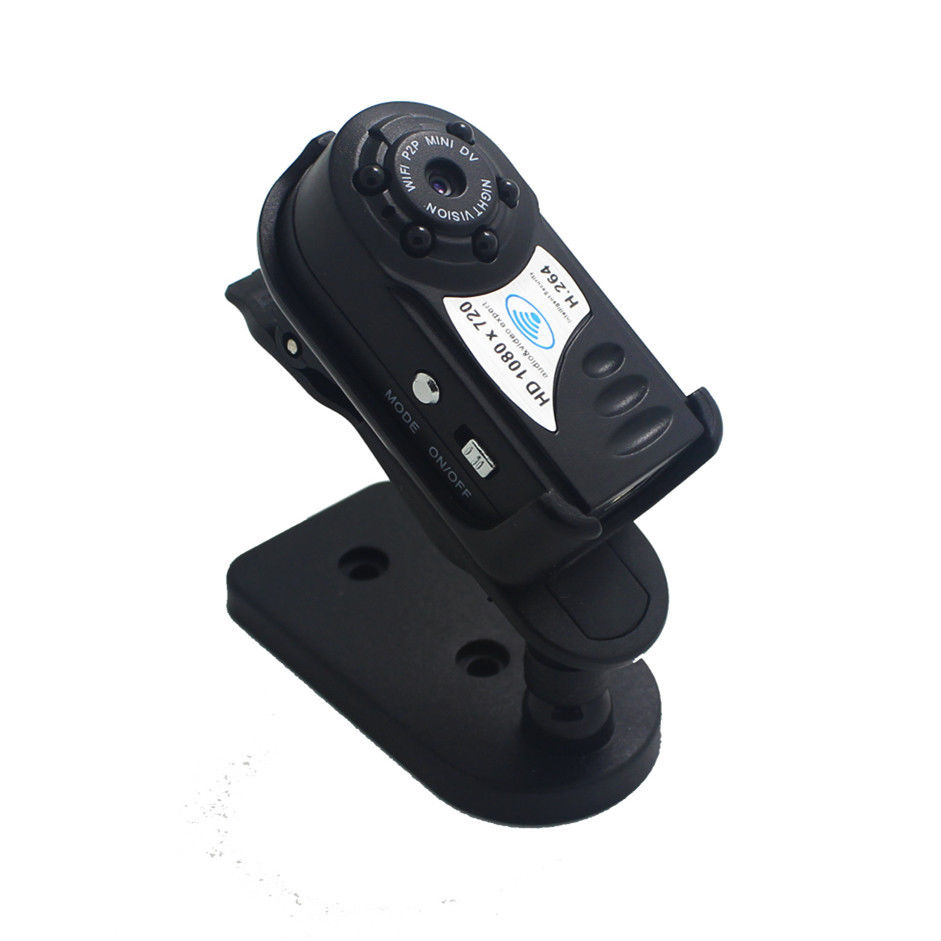 4GB Card+HD1080P Wireless P2P Mini Camera Q8 WiFi Camcorders DVR With Infrared No Flash4GB Card+HD1080P Wireless P2P Mini Camera Q8 WiFi Camcorders DVR With Infrared No Flash