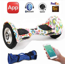 No tax 10 inch Electric Hoverboard APP control Oxboard Overboard Stand up Skateboard Self Balancing Scooters Hover board