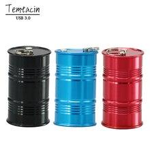 2017 Metal Barrel usb 3.0 Flash Drive Oil Bottle Drum model pen drive memory stick pendrive 4G 8GB 16GB 32GB 64GB USB Flash