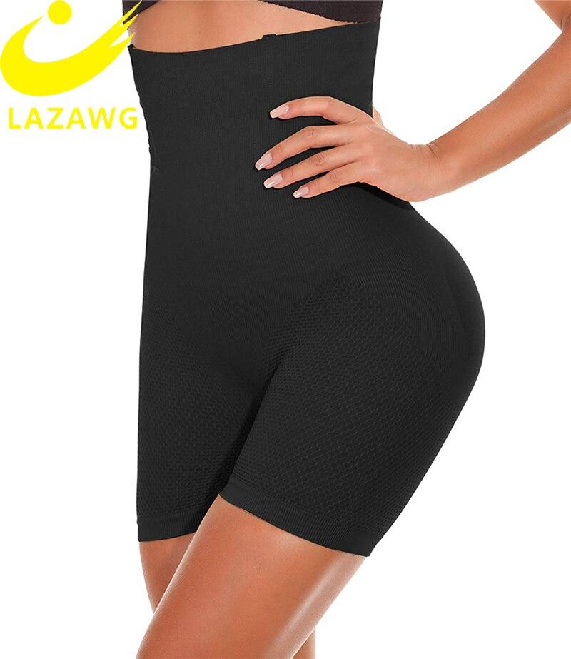 RAINED-Womens High Waist Shapewear Tummy Control Seamless Body Shaper Butt Lifter Panty Mid Thigh Slimmer Power Shorts