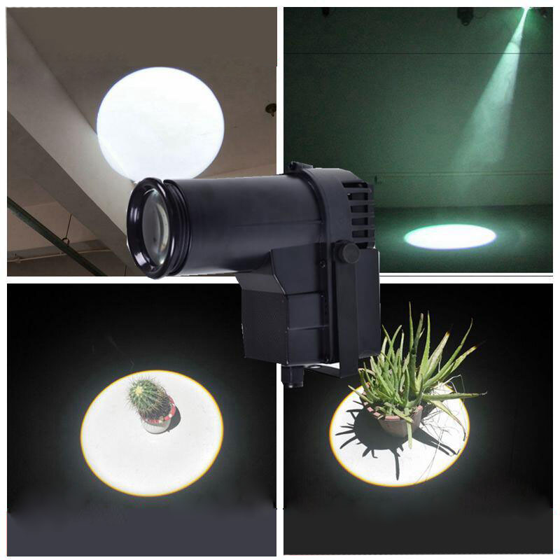 10W High Power Led DJ Stage Spot Effect Led Pinspot White Color Mini Spotlight For Discos Party Club Pinspot Black Shell
