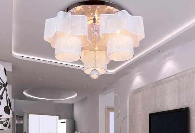 Lamp Woonkamer Plafond : Holle bloemen plafond lampen eenvoudige woonkamer slaapkamer