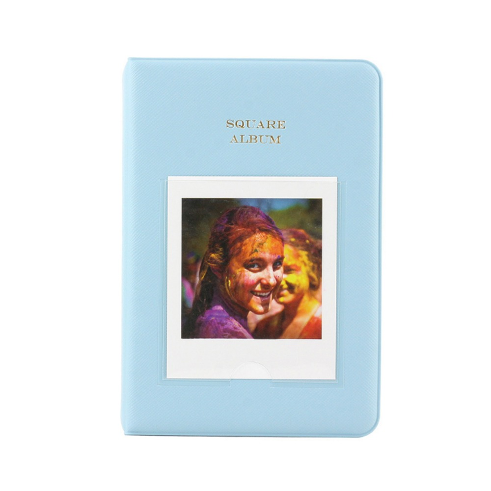 64 Pockets Photo Album Book Name Card for Square SQ10 SQ6 SQ20 Camera & Fujifilm Instax Share SP-3 Smartphone Printer Films