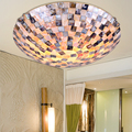 2016 Led Ceiling Light New Arrival Bohemia Lamps Shell Ceiling Light Brief Balcony Fashion Bedroom Lamp Mosaic Free Shipping
