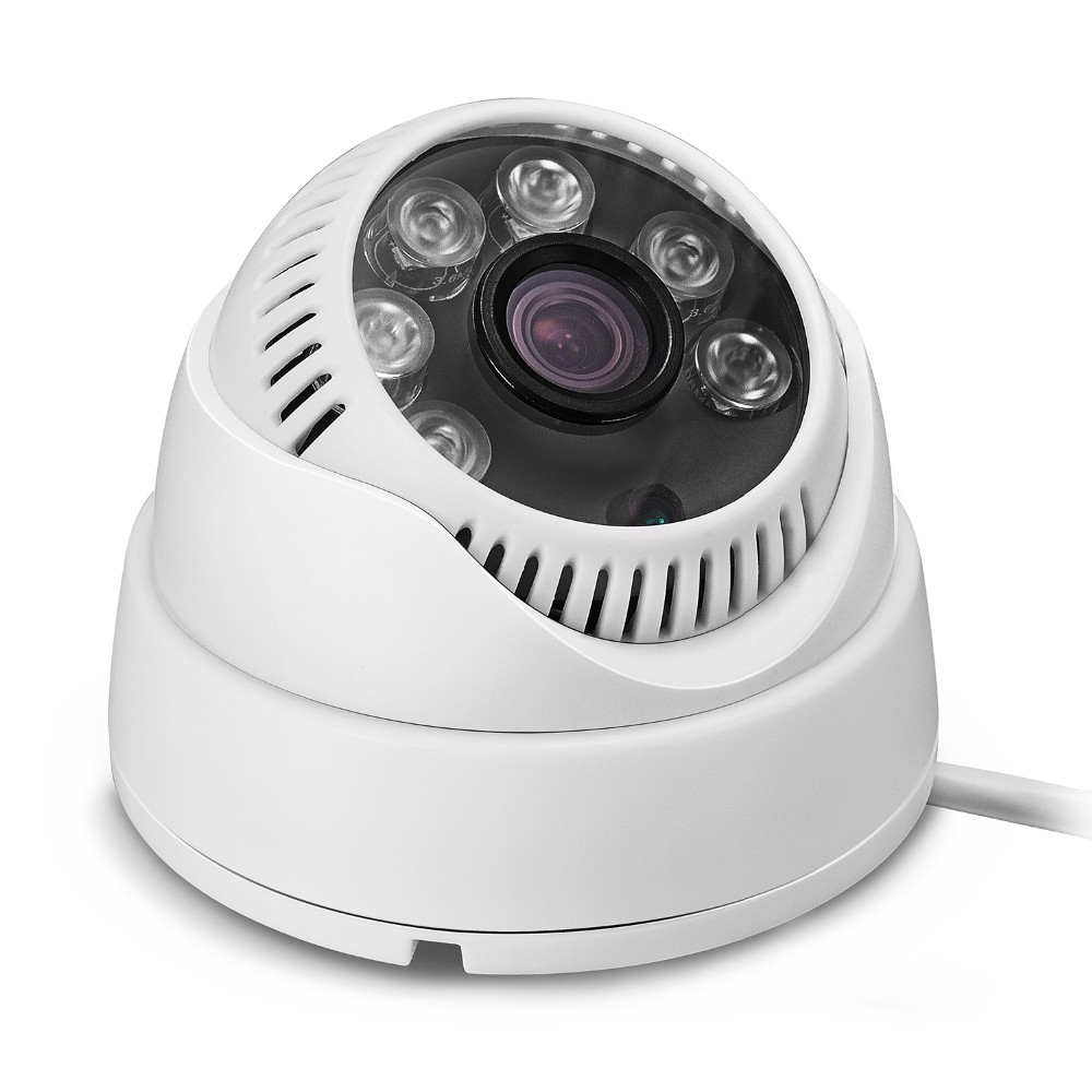 Two 1080 p indoor dome onvif movement email alert mobile IP cameras email