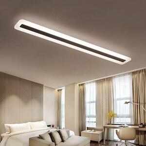 Image 5 - 220V פשוט מודרני LED תקרת מנורת מינימליזם תקרת אורות Creative סלון מסדרון אולם LED מנורה