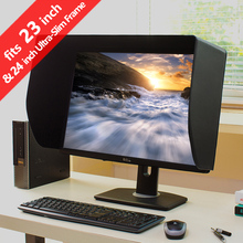 iLooker 23E 23 inch & 24 inch Ultr-Slim Frame LCD LED Monitor Hood Sunshade Sunhood for Dell HP EIZO Viewsonic Philips Samsung(China)