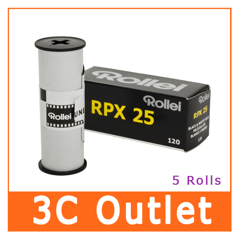 US $56 25 |Rollei RPX 25 ISO Black & White Film , 120 Size-in Film from  Consumer Electronics on Aliexpress com | Alibaba Group