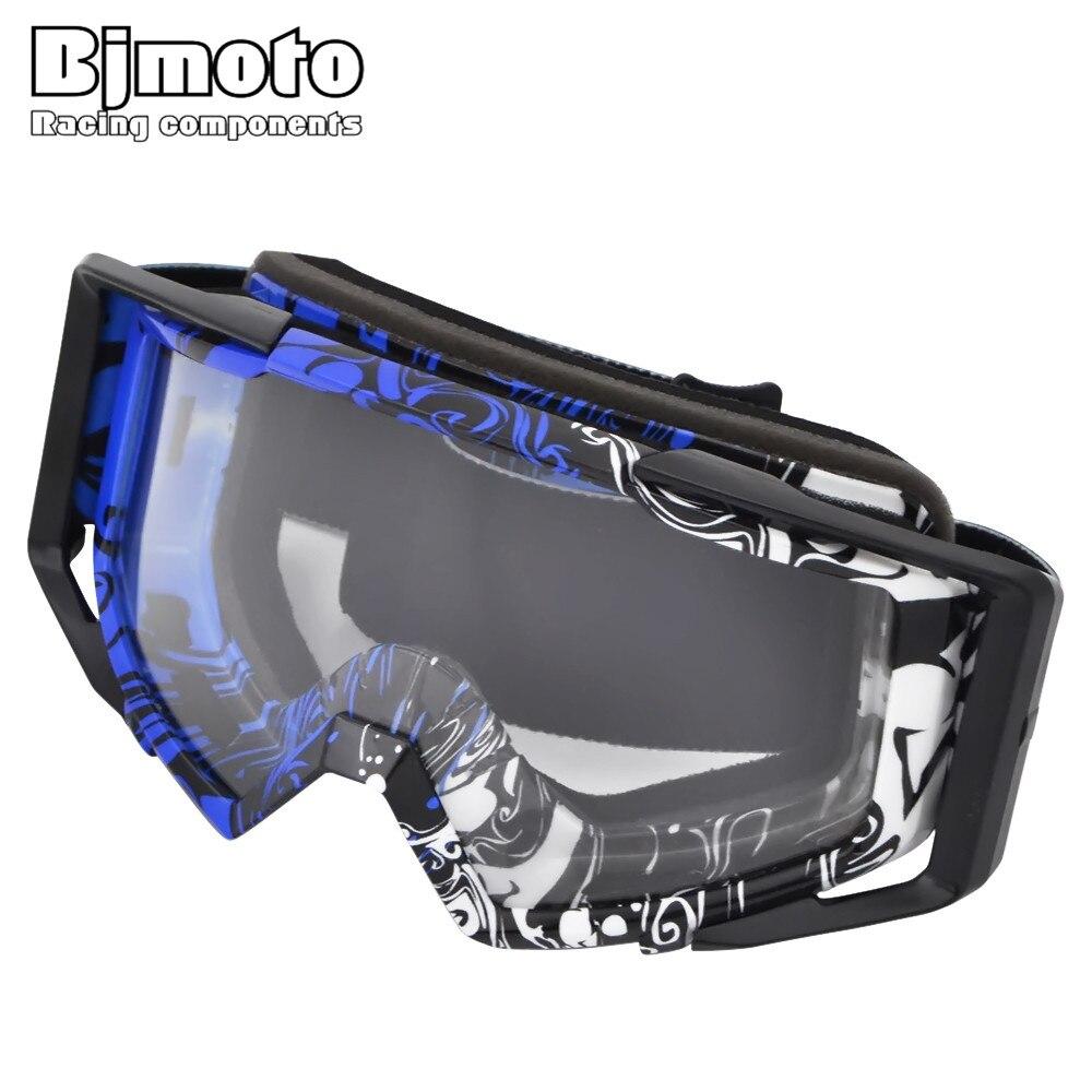 Bjmoto mg-020-06 мотокросс шлем очки граффити Мото Кросс Dirtbike мотоциклов Шлемы, Очки Лыжный Спорт очки на коньках