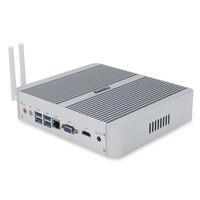 Hystou FMP03B-I3-7100U 4 k超hdミニpcインテルコアI3-7100U cpu windows 10 osサポート用kodi 17.0 5.1サラウンドサウンド出