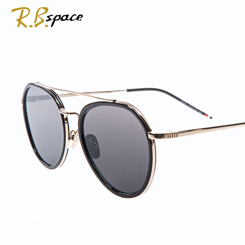 High Quality Men s Women s Unisex Designer ROUND METAL Colorful Coating Optical Sunglasses Glass Lens