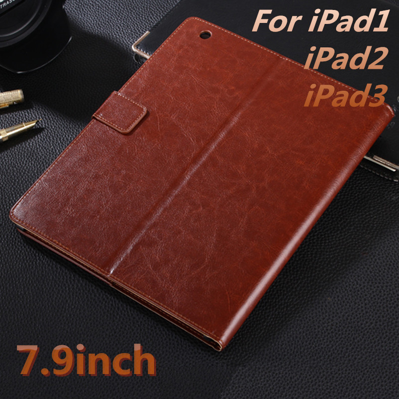 Luxury Leather Case for Apple iPad 2 3 4 High Quality cases For iPad4 Flip Cover for iPad2 Tablet PC For iPad3 Cover 7.9inch for ipad mini4 cover high quality soft tpu rubber back case for ipad mini 4 silicone back cover semi transparent case shell skin