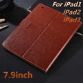 Luxury Leather Case for Apple iPad 2 3 4 High Quality cases For iPad4 Flip Cover for iPad2 Tablet PC For iPad3 Cover 7.9inch